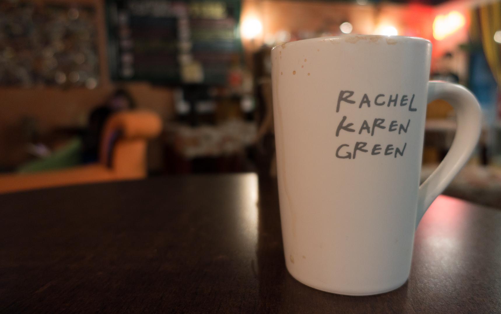 Rachel Karen Green Cup