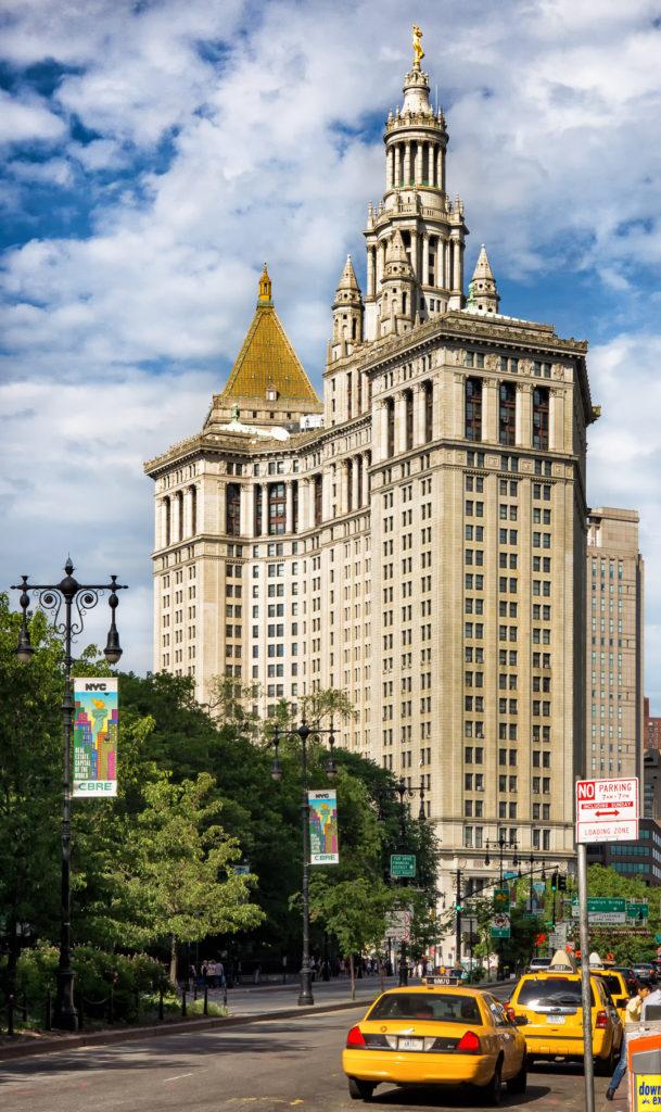 The David N. Dinkins Manhattan Municipal Building