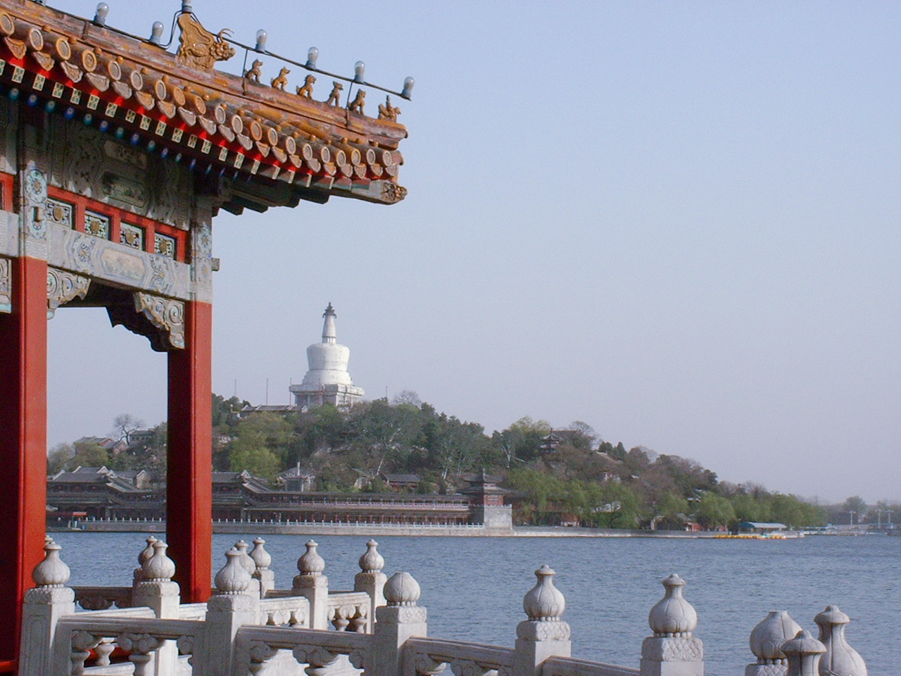 View from Five-Dragon Pavilions
