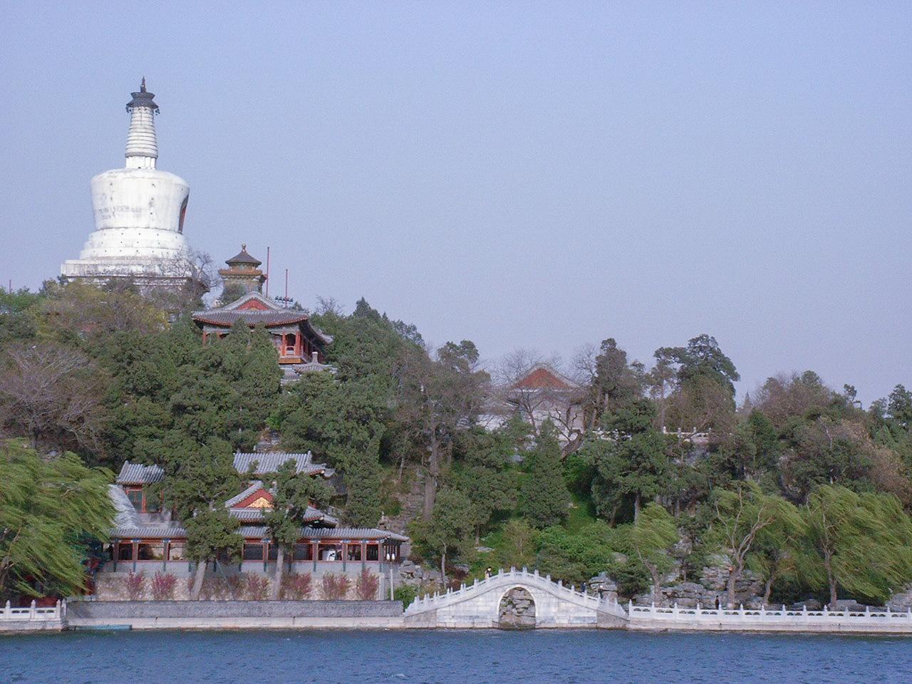 White Dagoba on Qionghua Island